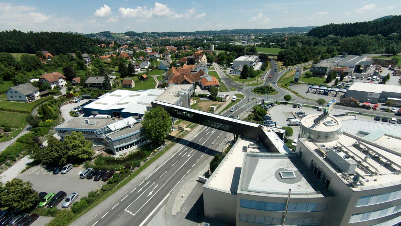 Gewerbegebiet Ludersdorf aufgenommen von BT-Group