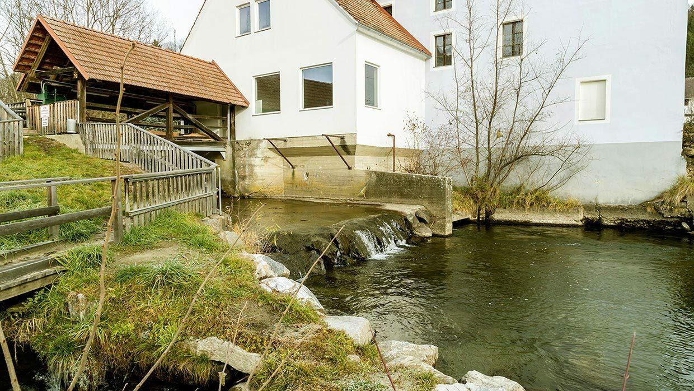 Foto von Außenansicht des Kraftwerk St. Johann